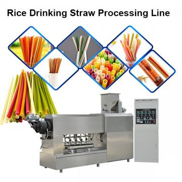 Single Screw Extruder Multi-Function Degradable Straw Rice Straw Pasta Making Machine