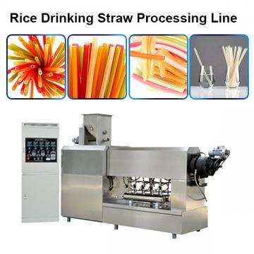 Eco Straw Machine Drinking Rice Straw Equipment