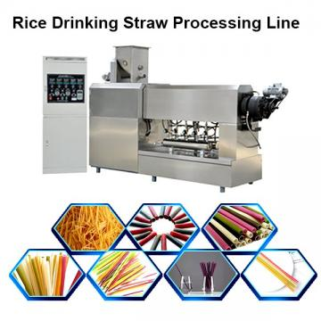 New Eco Friendly Disposable Tapioca Biodegradable Drinking FDA Flour Edible Vietnam Rice Straws Making Machine