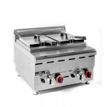Commercial Gas Pressure Deep Fryer with 25L Capacity Pfg600 Chicken Fry Machine