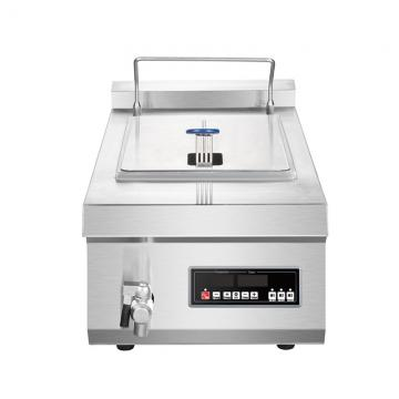 Restaurant Equipment Commercial Counter Top 2-Tank 2-Basket Continuous Donut Fryer