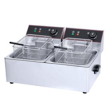 28 L Commercial Chicken Electric Deep Fryer Gas Fryer