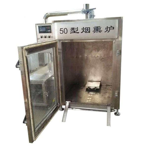 Commercial Smoke Champer Bacon Chicken Smoking Sausage Smokehouse Machine/Smoking Sausage in Electric Smoking House