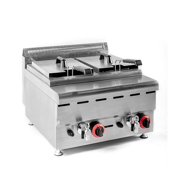 Gas Electric Heating Stainless Steel Fryer for Potato Chips