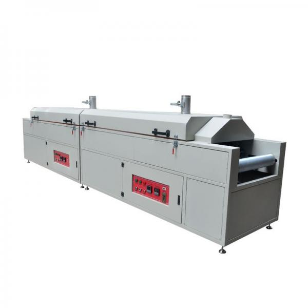 Conveyor System Chain Belt Pre-Heating Uniform Tunnel Oven