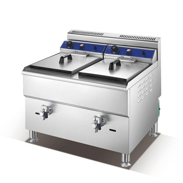 Automatic Lifting Computer Version Desktop Electric Fryer/Commercial Small Deep Fryer/Chips Maker Fryer for Fried Chicken Equipment